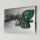 マンション表札ステンレスレーザーカット「リーフR」