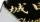 手作りガラス表札シュヴァルツ-漆黒-「正方形150」